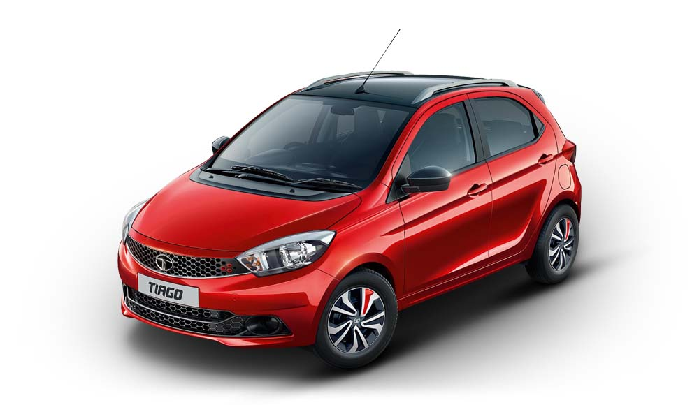 Tata Tiago Wizz Side View