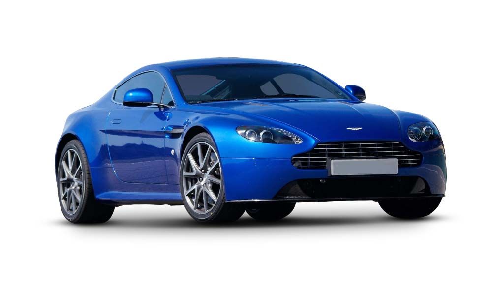 Aston Martin V8 Vantage S Side View